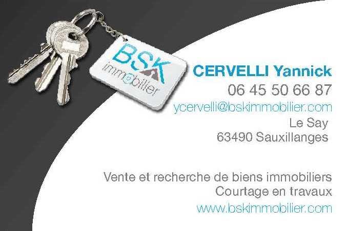 logo BSK Immobilier - CERVELLI Yannick